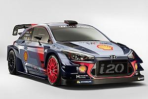 WRC Son dakika Hyundai i20 2017 WRC aracı görücüye çıktı