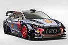 WRC Hyundai i20 2017 WRC aracı görücüye çıktı