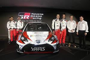 WRC Важливі новини Toyota презентувала новий Yaris WRC та оголосила склад пілотів