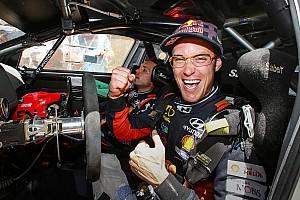 WRC Son dakika Belçika'da yılın pilotu Thierry Neuville
