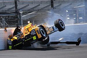 IndyCar Самое интересное Десять самых ярких аварий года в IndyCar
