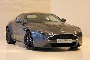 Automotive Nieuws Te koop: Aston Martin V12 Vantage S van Max Verstappen