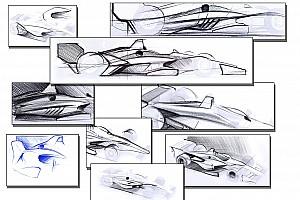 IndyCar Noticias de última hora IndyCar muestra el concepto de aerokit para 2018