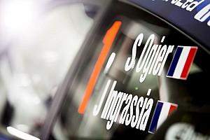 WRC Отчет о квалификации Ожье проехал быстрее всех в дебюте Ралли Монте-Карло