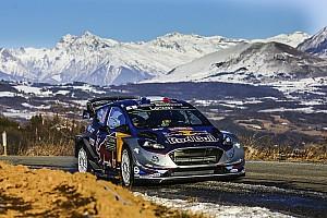 WRC Prüfungsbericht WRC Monte Carlo: Ogier holt im M-Sport-Ford die Shakedown-Bestzeit
