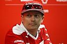 F1 Raikkonen fue nombrado Embajador para el Deporte en Finlandia