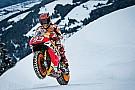 MotoGP Photos - Márquez et sa Honda sur la neige de Kitzbühel!