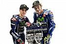 MotoGP MotoGP: Amikor Rossi és Vinales betakarózik a pályán!