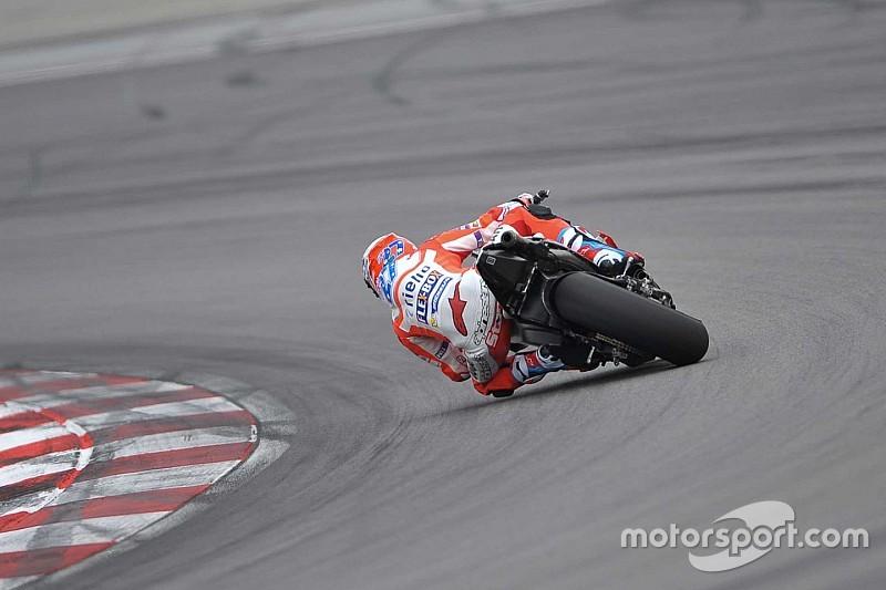 Stoner Testing Ducati