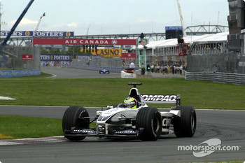 Tough day also for Ralf Schumacher