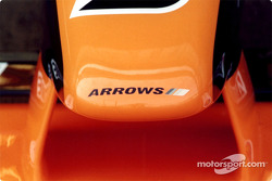 The nosecone of the Arrows A22