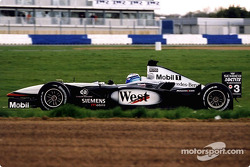 Mika Hakkinen in Luffield