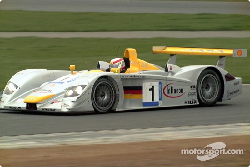 Race winner, Tom Kristensen