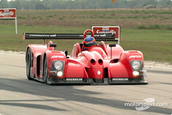 Panoz on backstraight