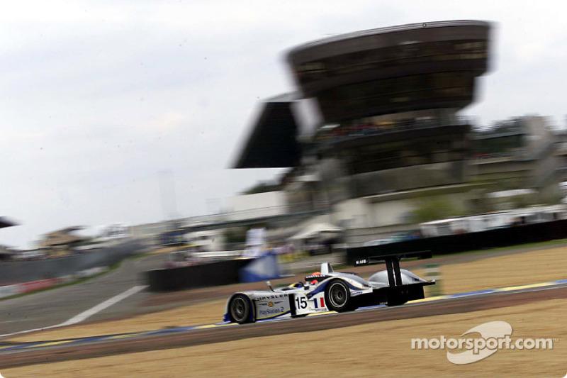 Franck Montagny in the Chrysler LMP
