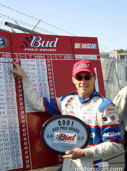 Bud Pole Winner Kevin Harvick