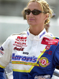 Shawna Robinson attempted to make the field for Sundays race but came up short