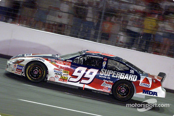 Race winner Jeff Burton
