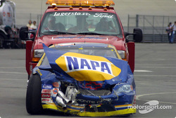 Michael Waltrip in trouble