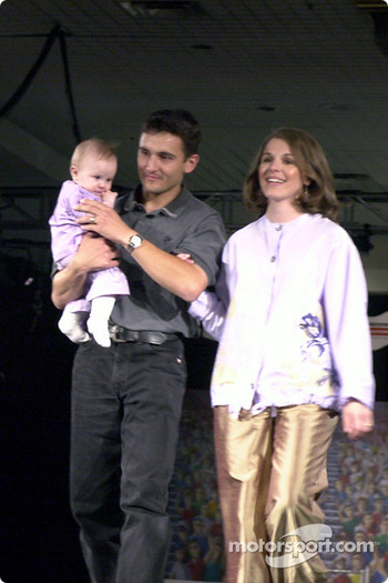 Stephan and Virginie Gregoire and daughter Eliza