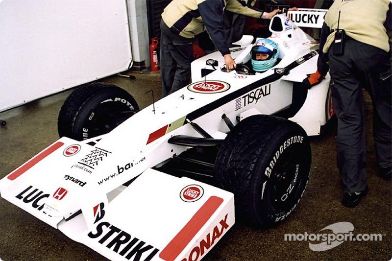 Patrick Lemarié in the garage