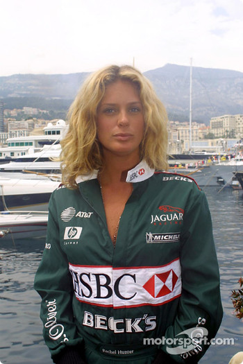 Kiwi power: the lovely Rachel Hunter