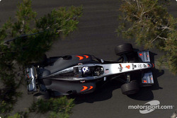 David Coulthard 0.201sec faster than Michael Schumacher in second place