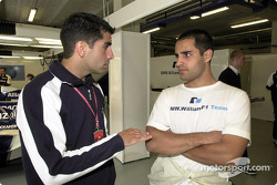 Marc Gene and Juan Pablo Montoya