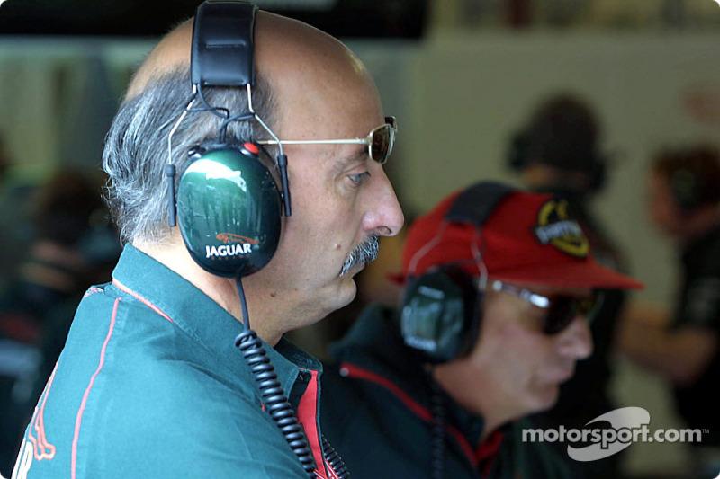 Bobby Rahal and Niki Lauda