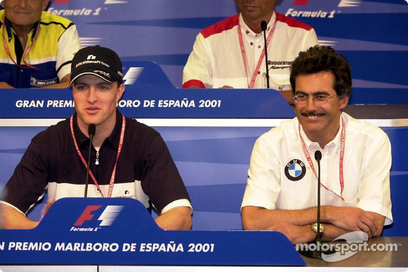 Press Conference: Ralf Schumacher and Dr. Mario Theissen