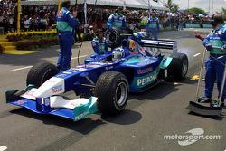 Sauber Petronas team in Johor Bahru: Kimi Raikkonen