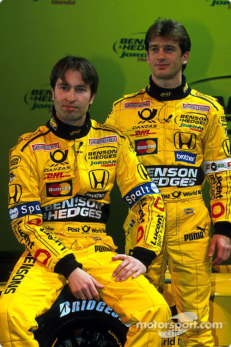 heinz harald frentzen and jarno trulli formula 1 photos main gallery. Black Bedroom Furniture Sets. Home Design Ideas