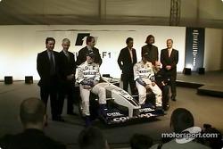 Ralf Schumacher, Juan Pablo Montoya and the team