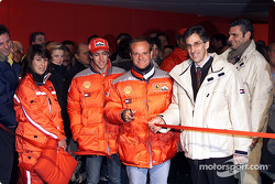 Rubens Barrichello opens the photo exibition