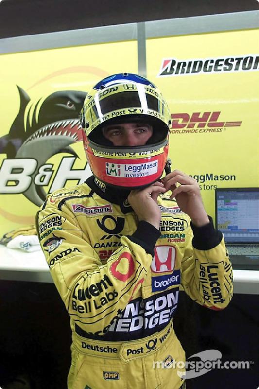 Before the race: Ricardo Zonta