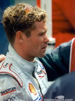 Tom Kristensen before the race