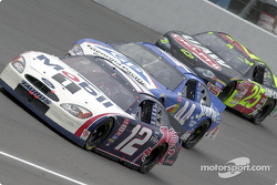 Jeremy Mayfield leads Buckshot Jones and Jerry Nadeau