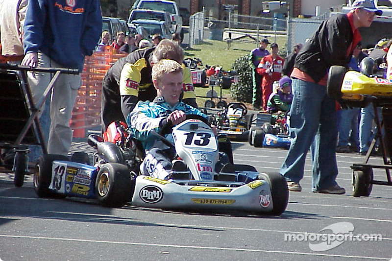 125-Shifter: 13-Brian Jacobsen Gets A Push Start At The Grid