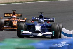 Nick Heidfeld and Jos Verstappen
