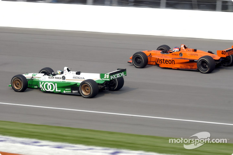 Paul Tracy and Jimmy Vasser