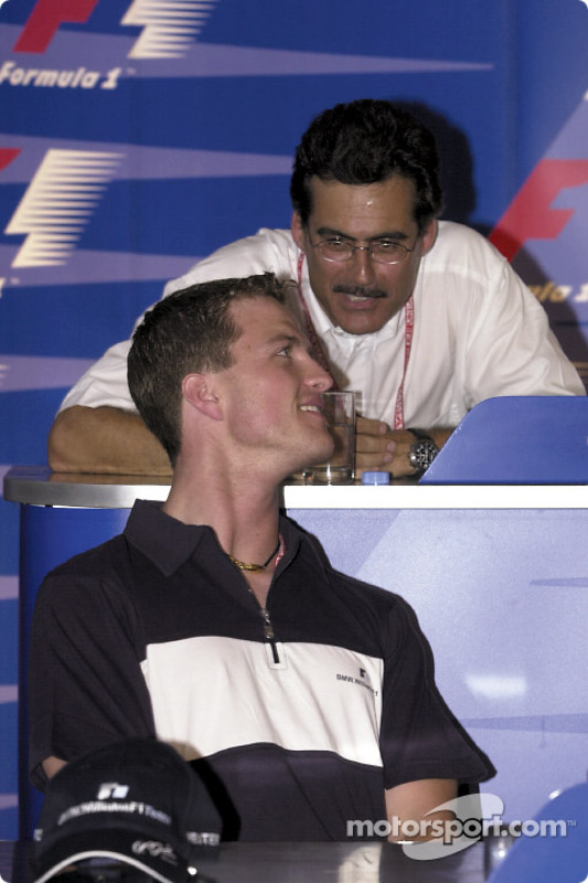 FIA Thursday press conference: Ralf Schumacher and Mario Theissen