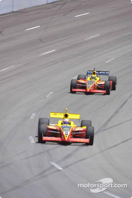 Scott Sharp and Mark Dismore