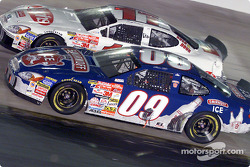 Brothers Geoffrey and Brett Bodine racing side by side