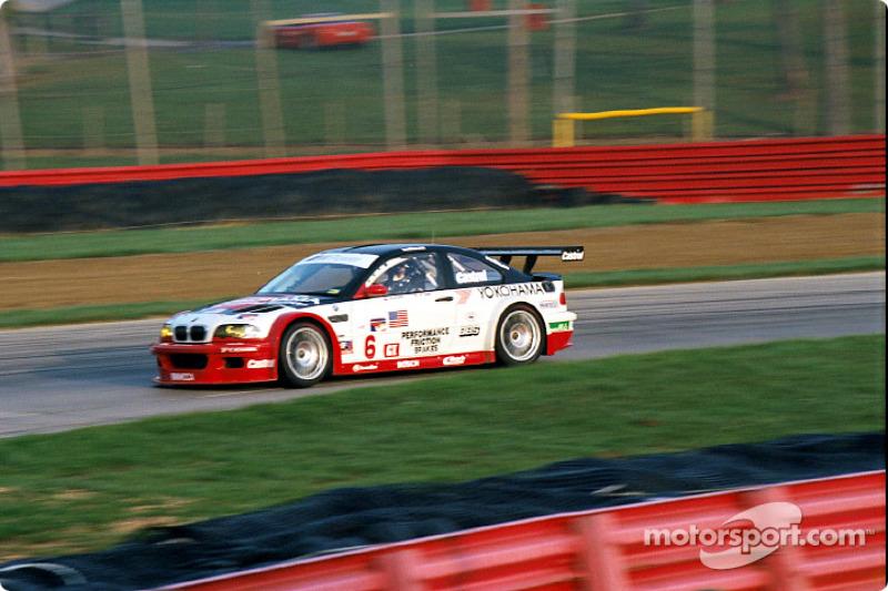 BMW at speed