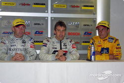 Press conference: Uwe Alzen, Bernd Schneider and Laurent Aiello