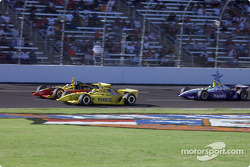 Sam Hornish Jr., Robbie Buhl and Eliseo Salazar