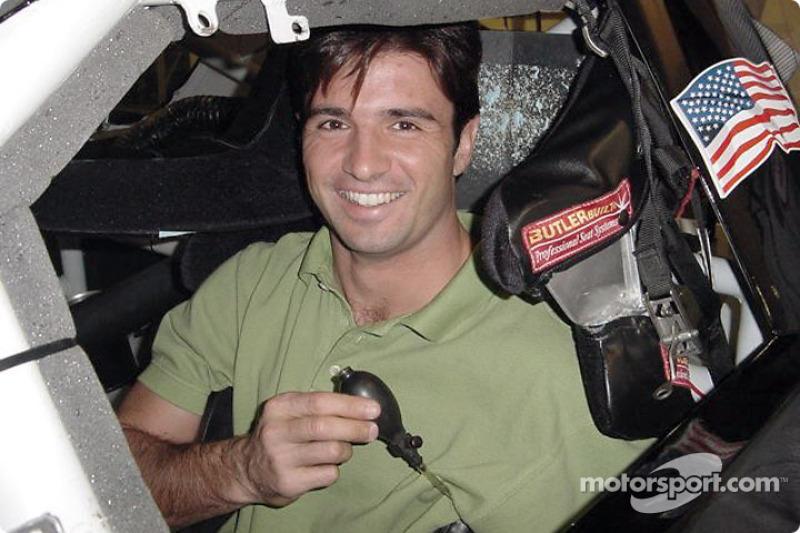 Christian Fittipaldi preliminary test at Homestead
