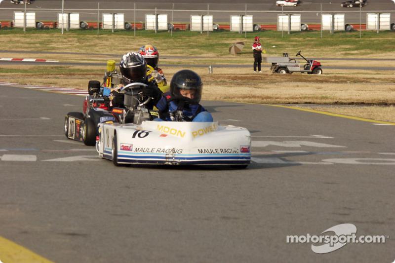 Briggs Junior Sportsman-2 #15-Terry McDermott, #05-Steven Brooks