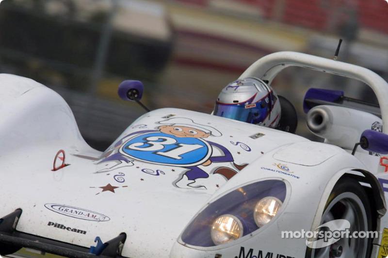 Team Bucknum Racing's #31 Nissan Pilbeam races in the Grand-Am Finale at Daytona