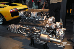 The Lamborghini Murcielago V12 engine